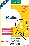 Mieux que des annales : des sujets inédits corrigés-  Diplôme National du Brevet Maths - 3e: Troisième - Épreuve de Mathématiques - DNB (French Edition) 画像
