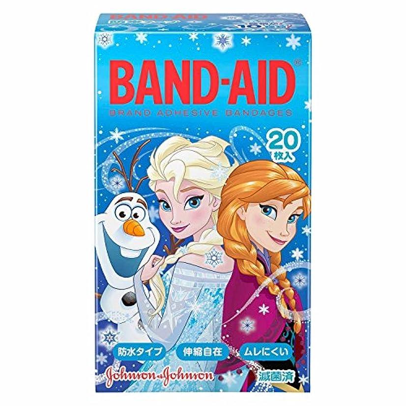 左差し迫った一部BAND-AID(バンドエイド) キャラクター ディズニー アナと雪の女王 20枚 ばんそうこう