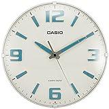 CASIO(カシオ) 掛け時計 電波 アナログ ウェーブセプター 蓄光 インデックス ホワイト IQ-1009J-7JF