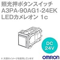 オムロン(OMRON) A3PA-90AG1-24EK 照光押ボタンスイッチA3Pシリーズ (角胴形・正方形・無分割) (LEDカメレオン) (モーメンタリ) NN