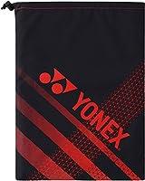 ヨネックス(YONEX) テニス バッグ シューズケース BAG1893 ブラック×レッド(187)