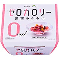 遠藤製餡 Nゼロカロリー黒糖あんみつ 170g×6個