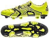 アディダス adidas 29.5cm 天然芝/人工芝用 サッカースパイク エックス X 15.1 FG/AG 国内正規品 B26979 ソーラーイエロー