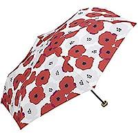 w.p.c 雨傘折傘 レッド 50cm(親骨) 552-116