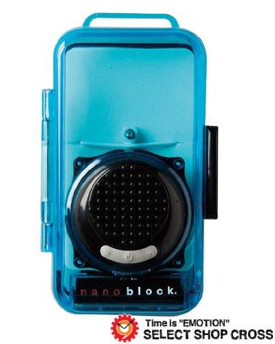 nanoblock ナノブロック防沫 デコレーションスピーカー おまけフィギア付 NBA-0881BK ブラック