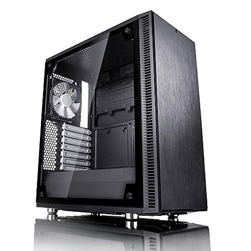 協力的従来のミットFractal Design Define C, Black, Tempered Glass ミドルタワー型PCケース CS6889 FD-CA-DEF-C-BK-TG