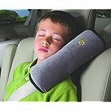 product シートベルトカバー シートベルト パッド クッション 車用 28 ドライブ カーグッツ 子供 ハーネス (グレー)