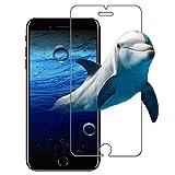 iPhone8 ガラスフィルム,I-Enjoy 国産ガラス iPhone 8 フィルム 0.15mm 2.5D(iPhone 8/7 4.7インチ専用)