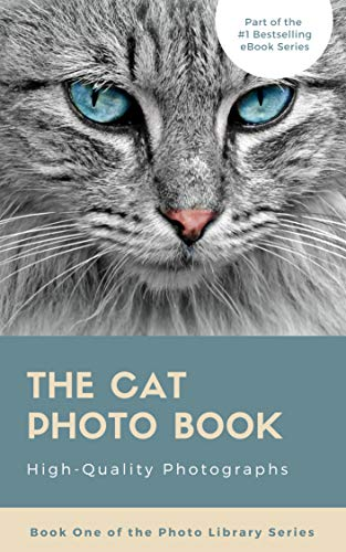 The Cat Photo Book (Photo Library Series 1) (English Edition)