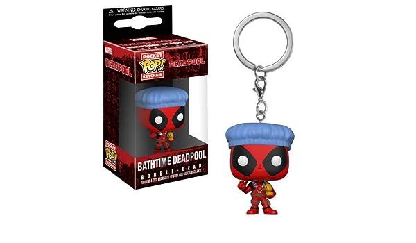 porte-clé Deadpool Bathtime Funko Marvel Pocket Pop!