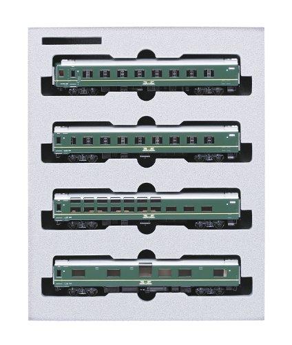 KATO Nゲージ 24系 トワイライトエクスプレス 増結 4両 10-870 鉄道模型 客車