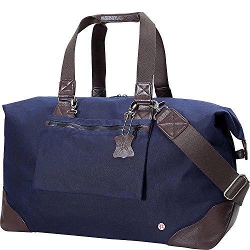トーケン バッグ スーツケース Lafayette Waxed Duffel Bag Navy [並行輸入品]