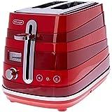 DeLonghi Avvolta, 2 Slice Toaster, CTA2003R, Red