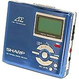 SHARP シャープ MD-DR7-A (ブルー) MDレコーダー MDLP対応 (MD録音再生兼用機/ポータブルMDプレーヤー/ポータブルミニディスクレコーダー)