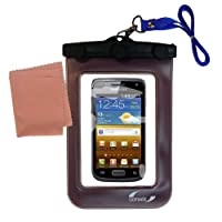 Gomadicアウトドア防水携帯ケースSuitable for the Samsung Ancoraに使用Underwater–keepsデバイスClean and Dry