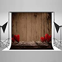 10 ft w x10ft h valentine backdrops for photograpyビニールハート
