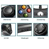 ET1901xbox 360コントローラー,Diswoe ゲームパッド USB ゲームコントローラー Microsoft Xbox&Slim 360 PC Windows 7適用 (ブラック)