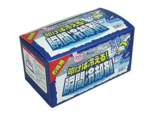 冷却剤【扶桑化学 叩けば冷える!瞬間冷却剤】(140g×5袋入)X20箱
