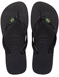 Havaianas(ハワイアナス) Brazil(ブラジルロゴ) Black(ブラック/黒色)[ビーチサンダル/スリッパ][メンズ/レディース]