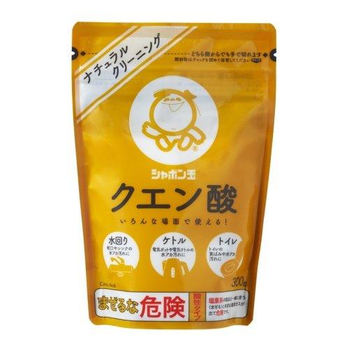 シャボン玉 クエン酸 300g