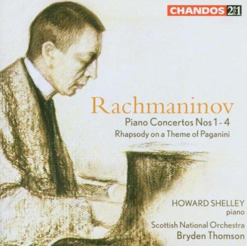 Piano Concertos Nos 1-4