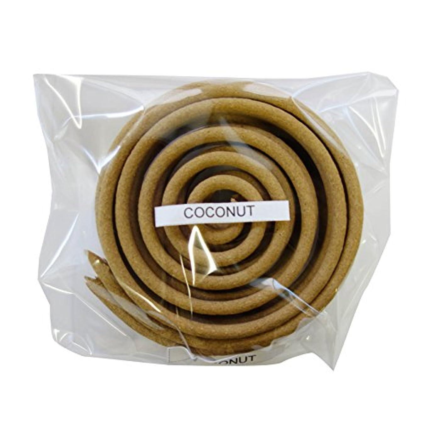 白菜ロータリーについてお香/うずまき香 COCONUT ココナツ 直径6.5cm×5巻セット [並行輸入品]