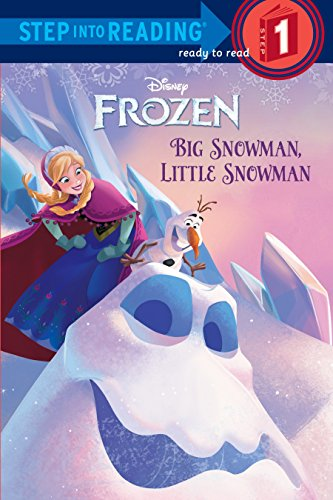 Big Snowman, Little Snowman (Disney Frozen) (Step into Reading)の詳細を見る