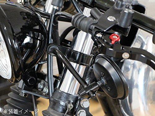 アルミビレット フォーククランプ 41mm 41φ ブラック ウインカーステー ミラーステー VTR1000 シャドウ スラッシャー ブロス CB400SF VFR400R VTR250 XJR400R ドラッグスター GSX-R750 GSX-R400 バンディット インパルス GSX400S刀 GPZ900R ゼファーχ ゼファー750 ZRX400 CP1338-41B