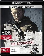 The Accountant (4K Ultra HD + Blu-ray)