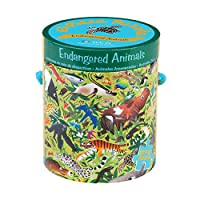 Endangered Animals 63 Piece Puzzle