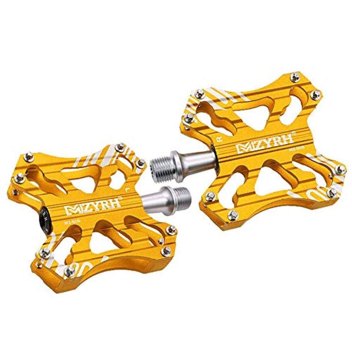 考慮折るタブレット自転車用ペダルアルミ合金乗馬部品マウンテンバイクベアリングダブルインモールドアルミCNC自転車用