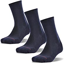 Hiking Socks, ZEALWOOD Unisex Merino Wool Outdoors Sports Socks Cushion Crew Athletic Socks