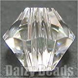 【最高級スワロフスキービーズ】 #5301-3mm Crystal(クリスタル) 50ヶ