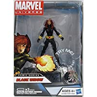 Marvel Universe Exclusive Comic Series Figure With Light Up Base Black Widow おもちゃ [並行輸入品]
