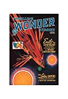 Thrilling Wonder Stories Rocket Ship Troubles Prin Unframed Paper Poster Giclee 20x29 01960-3_Poster - Giclee (Standard Size)