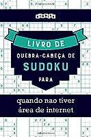 Livro de quebra-cabeça de Sudoku para quando nao tiver área de internet