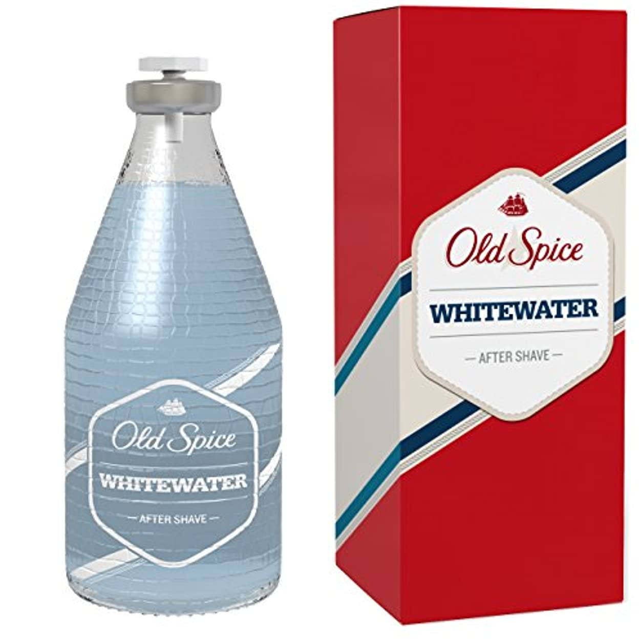 活性化する安らぎ見ましたOld Spice - オールドスパイスホワイトウォーター アフターシェーブ 100ミリリットル - 【並行輸入品】