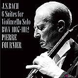 J.S.バッハ : 無伴奏チェロ組曲 全6曲 BWV1007-1012 (J.S.Bach : 6 Suites for Violincello Solo BWV 1007-1012 / Pierre Fournier) [3LP] [Limited Edition] [Live Recording] [日本語帯・解説付] [Analog]