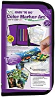 Big Kid's Choice Easy To Do Keep N' Carry Set-Color Marker Art (並行輸入品)