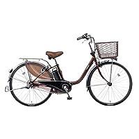 Panasonic(パナソニック) 2017年モデル ビビ・DX 24インチ カラー:チョコブラウン BE-ELD433-T 電動アシスト自転車 専用充電器付