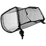 Sharplace ネット状バック テニスボール 収納バッグ ブラック ゴルフボール コレクター 高品質