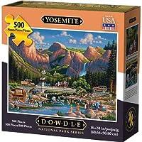 Dowdleフォークアート国立公園シリーズ500ピースパズル、ヨセミテ国立公園
