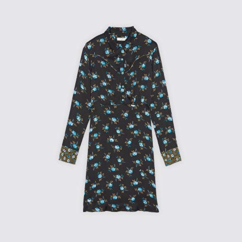 (サンドロ) Sandro WOMEN`S SHORT PRINTED DRESS レディース ショート プリント ドレス (並行輸入品)