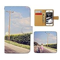 (ティアラ) Tiara らくらくスマートフォン3 F-06F スマホケース 手帳型 ポスター 手帳ケース カバー PHOTO ポスター 恋人 子供 F0177010070904