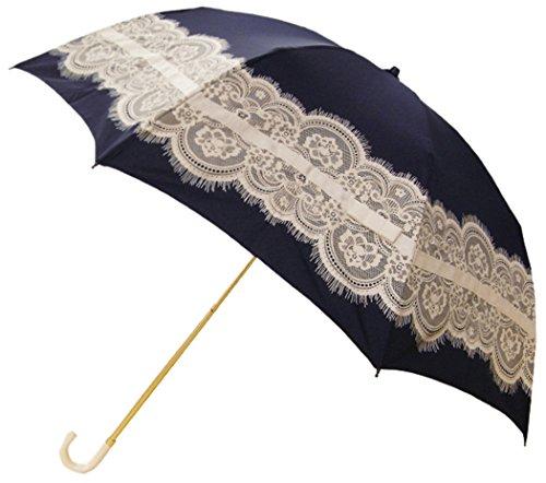 [해외]핑크 트릭 접는 우산 양산 | 청우 겸용 레이스 &  리본 8 개의 뼈 50cm UV 컷 97 % 이상/Pink Trick Folding Umbrella Parasol | Rain | Daily Combined Lace &  Ribbon 8 Bones Bone 50 cm UV Cut 97% or More