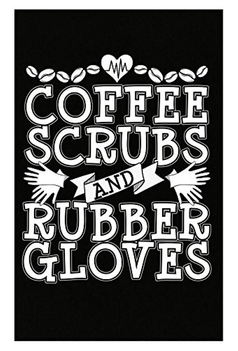 フリース野望悪質なコーヒーScrubsとゴム手袋看護師Doctor Surgeon – ポスター 11x17 inches ブラック