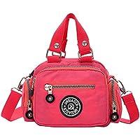 Wiwsi Lady Female Nylon Purse Tote Shopping Crossbody Bags Travel Handbag Small
