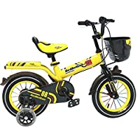 GREAT聖DGF子供の自転車12/14/16インチBaby Carriage 3–12年古い赤ちゃん男の子女の子ペダル自転車(サイズ: 12inches)
