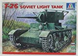 おもちゃ Italeri 1:35 T-26 Soviet Light Tank Model モデル Kit #359 [並行輸入品]