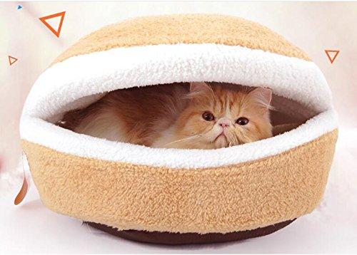 IDEAPRO ペットベッド 犬猫用 寝袋 ねこベット 保温...